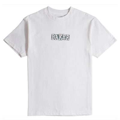 Ribbon T-Shirt - White/Grey