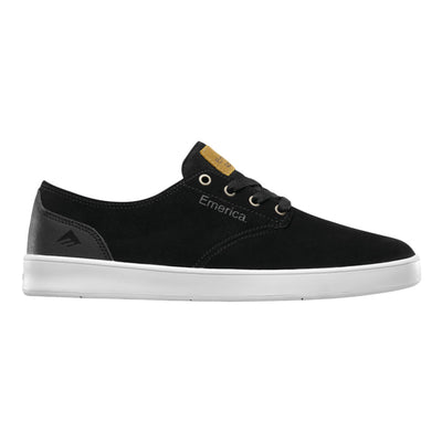 The Romero Laced Shoe - Black Black White