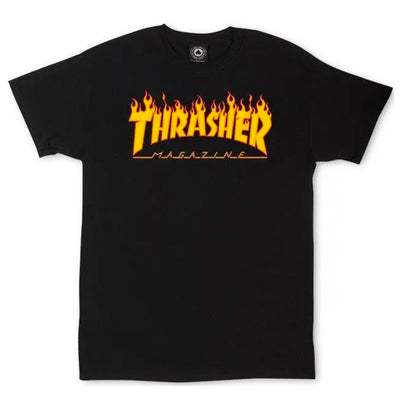 Flame T-Shirt - Black