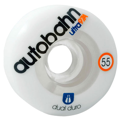Dual Ultra Classic Wheel 55mm - White