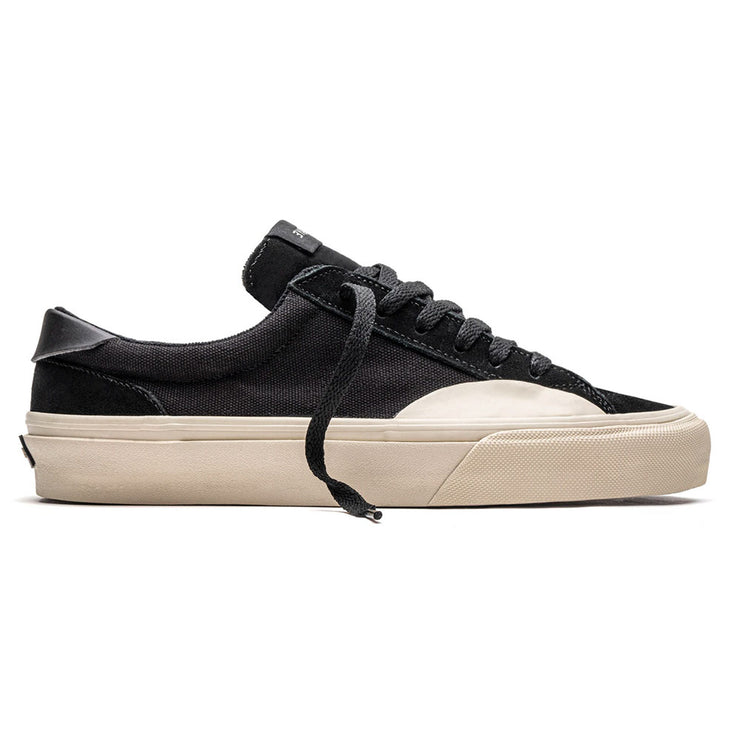 Logan Canvas Shoe - Black/Bone