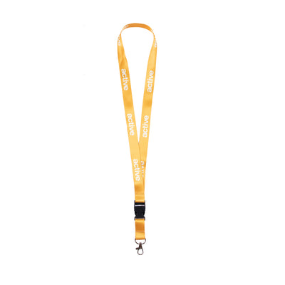 Lanyard - Yellow