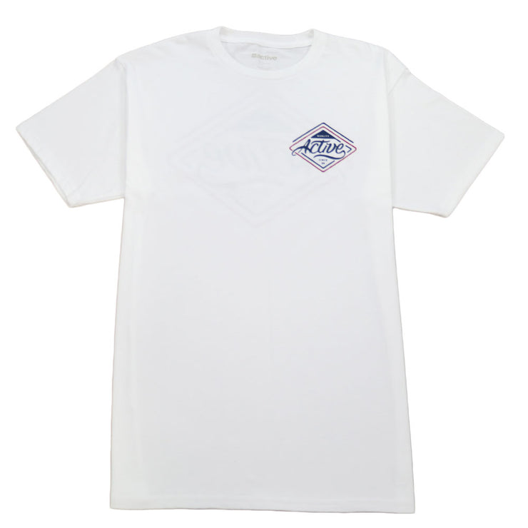 Park Ave Youth Tee - White
