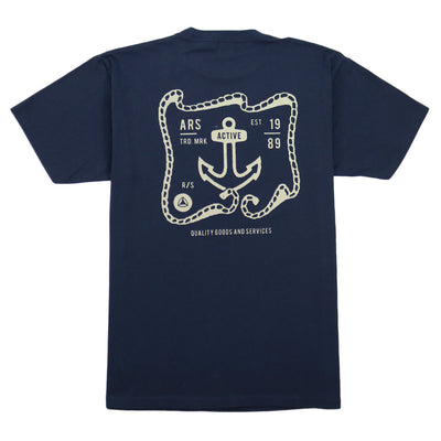 Ironworks T-Shirt - Navy