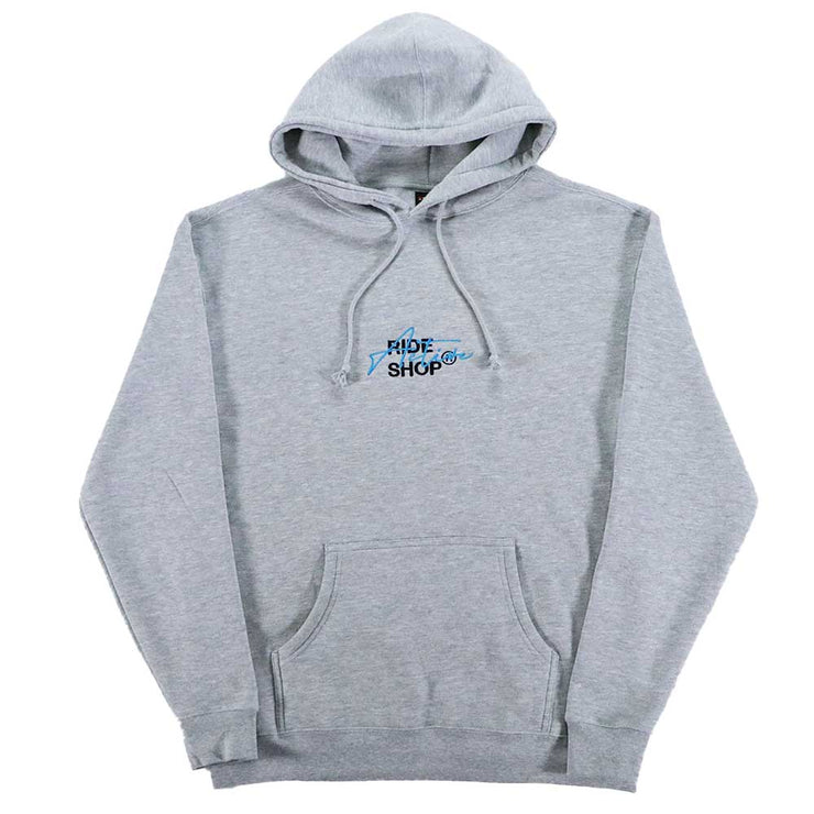 Overlay Hoodie - Heather Grey