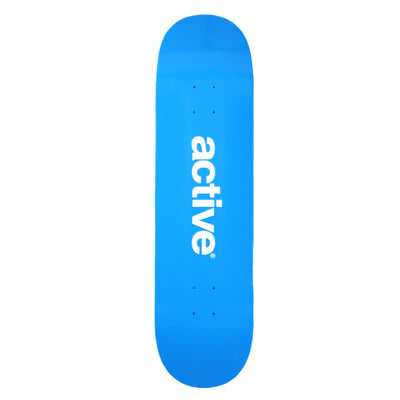 Active Logo Deck- Blue