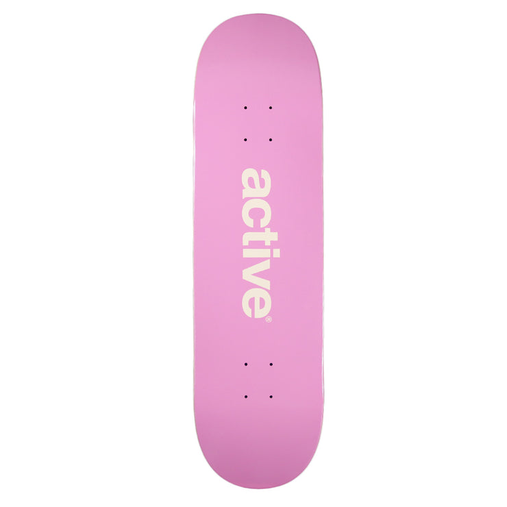 Active Logo Deck - Pink