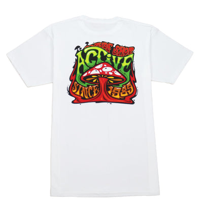 Shrooms Tee - White