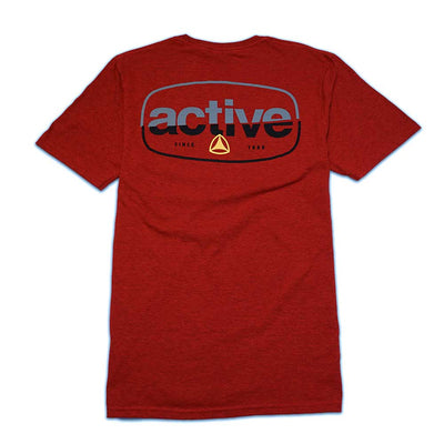Slice T-Shirt - Antique Cherry Red