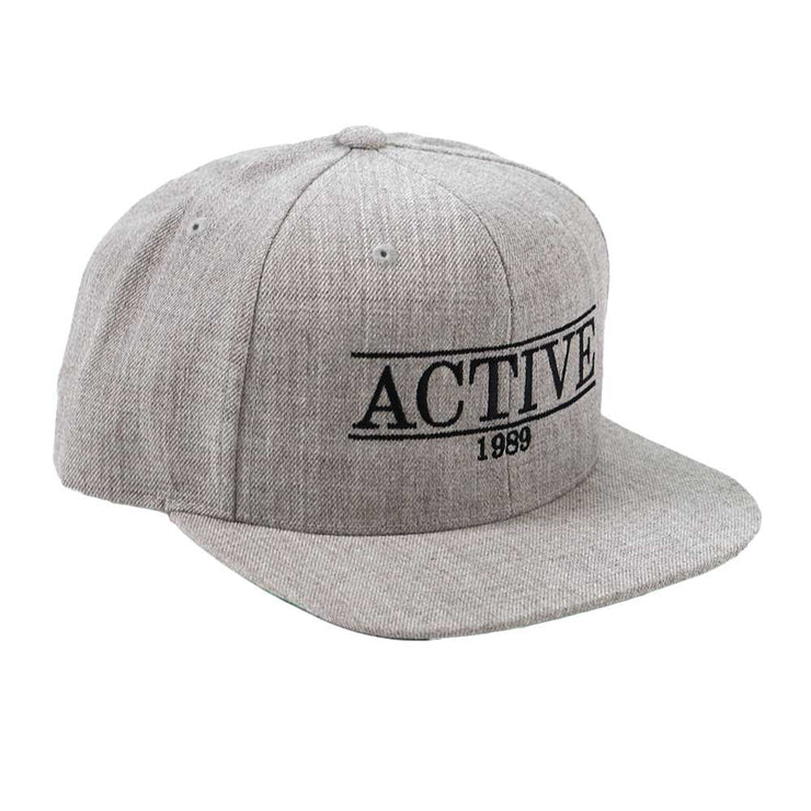 Sundaze Snapback Hat - Light Heather Grey