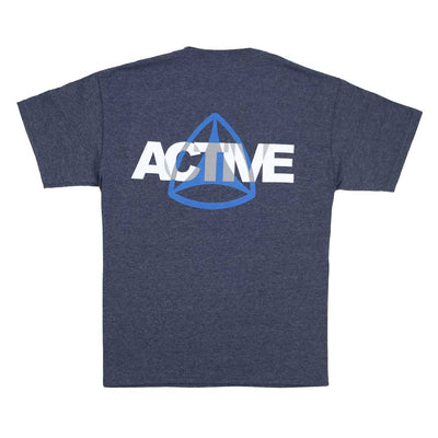 Layer Youth Tee - Heather Navy