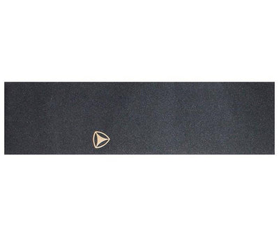 Active Ride Shop black skateboard griptape with an Active Icon logo cutout on right side