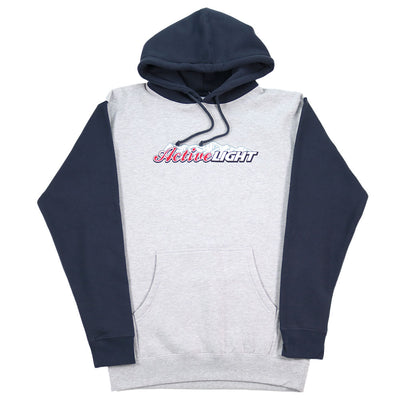Active Light Hoodie - Grey/Blue