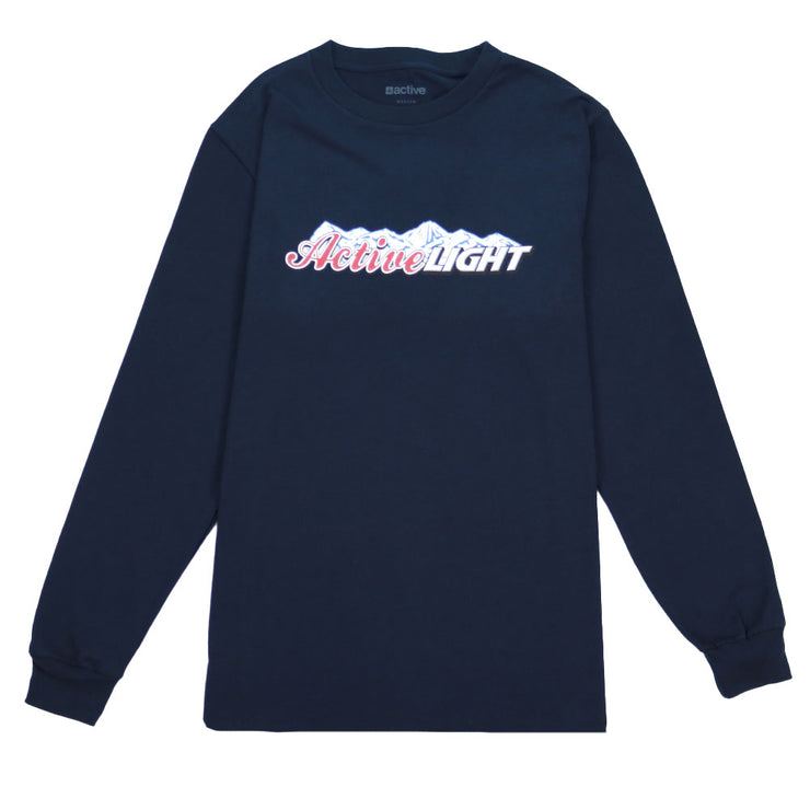 Active Light Long Sleeve T-Shirt - Navy