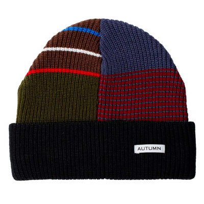 Patchwork Select Beanie - Black