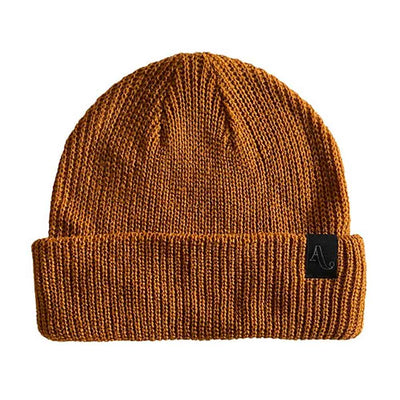 Simple Beanie - Work Brown