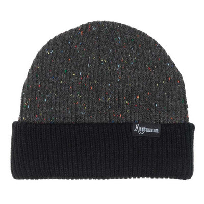 Speckled Beanie - Black