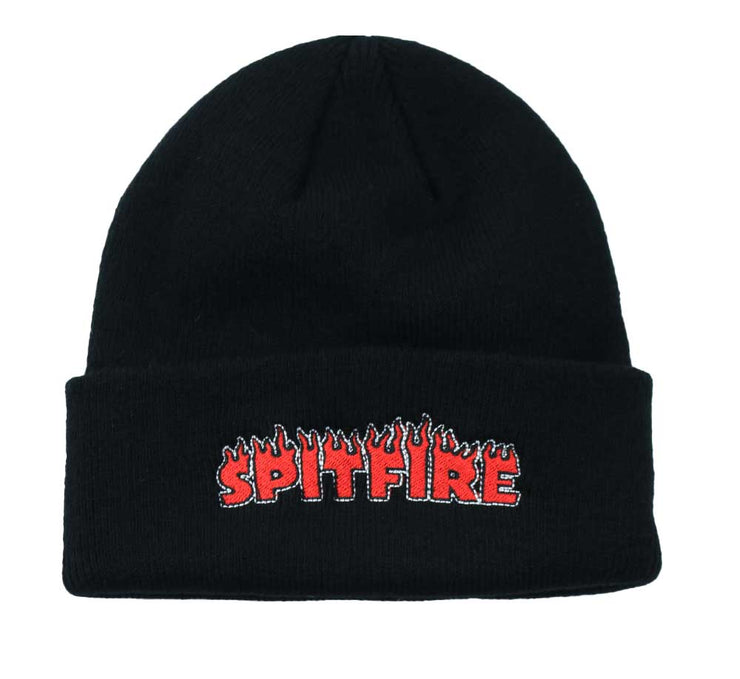 Flash Fire Beanie - Black
