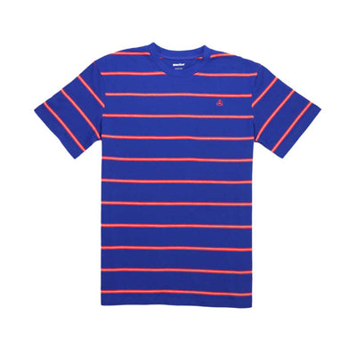 Bert Stripe Tee - Royal/Red