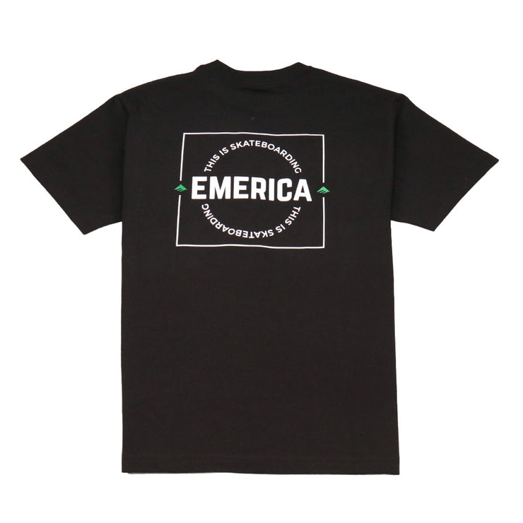 Statement T-Shirt - Black