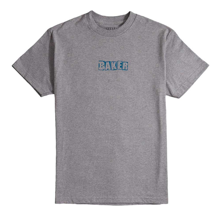 Brand Logo T-Shirt - Heather Grey