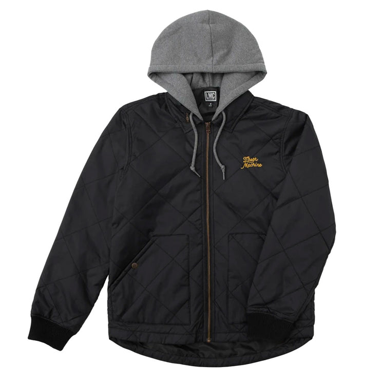 Cannon Jacket - Black/Grey
