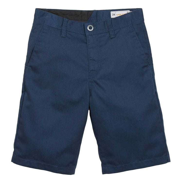Frickin Chino Youth Short - Service Blue