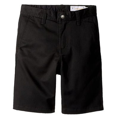 Frickin Chino Youth Short - Black