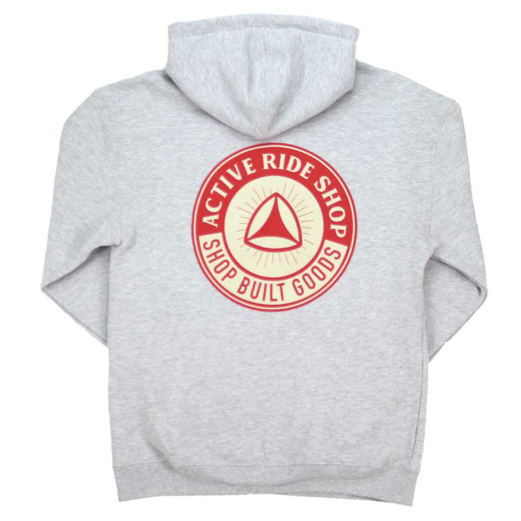 Compact Hoodie - Grey Heather
