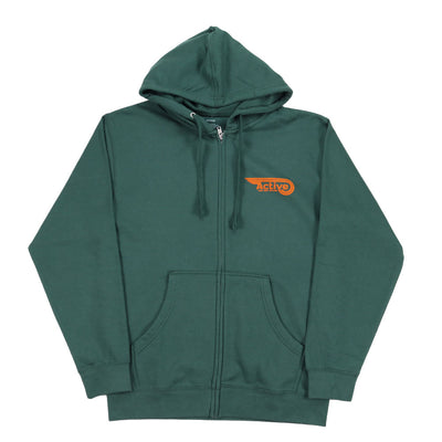 Crush Zip Hoodie - Alpine Green