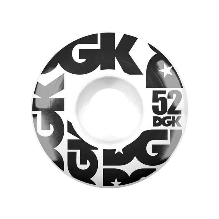 DGK Street Formula Wheels 52mm - White