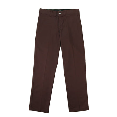 '67 Slim Fit Flat Front Flex Twill Pant - Chocolate Brown