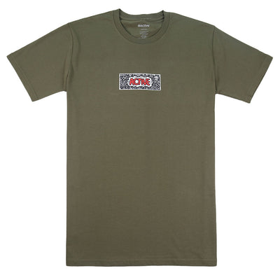 Doodle T-Shirt - Army Green