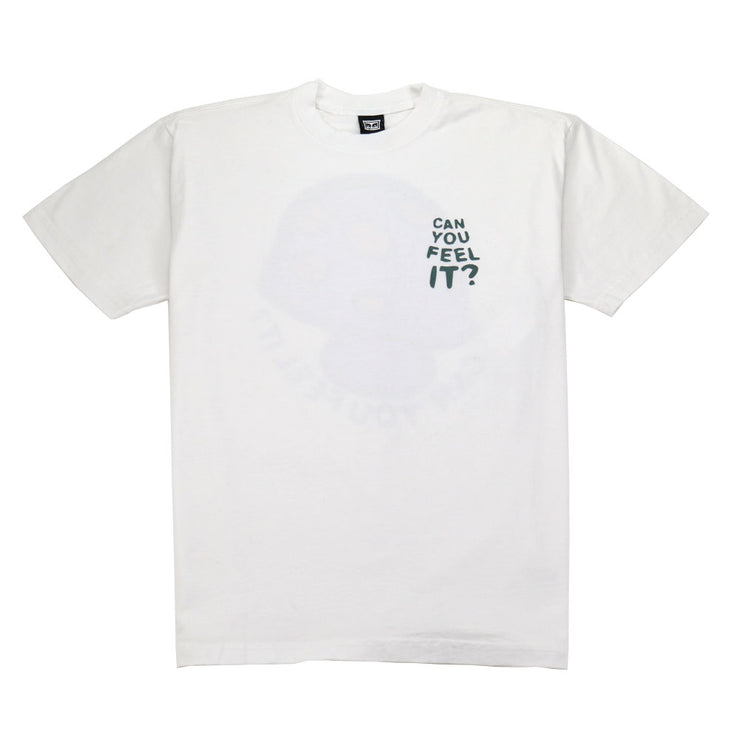Can You Feel It T-Shirt - White