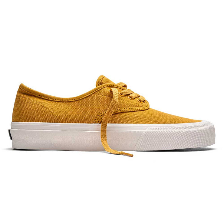 Gower Shoe - Mustard/Cream