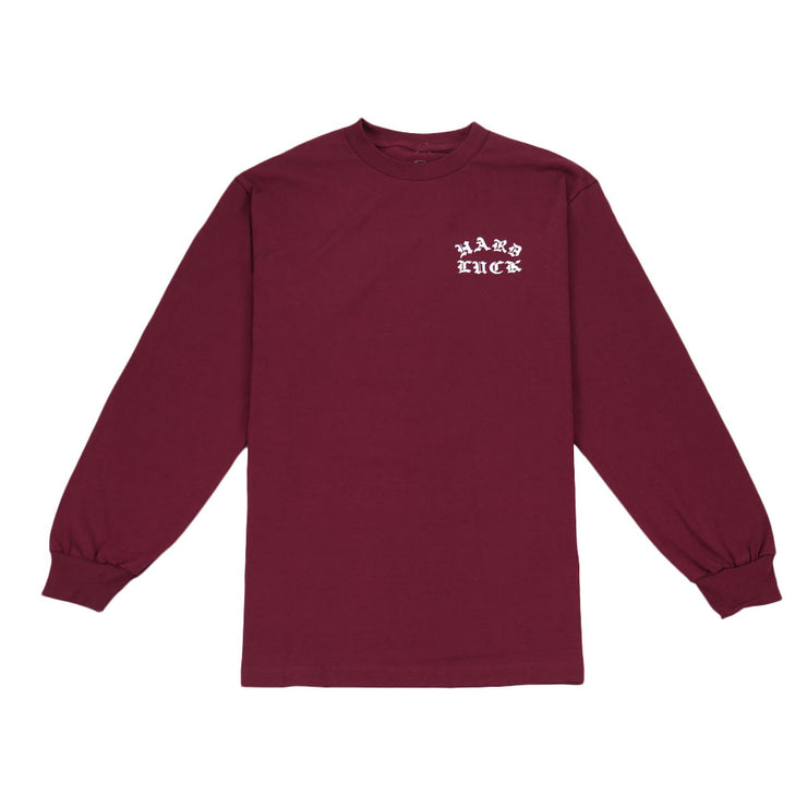 Rosas Long Sleeve - Burgundy