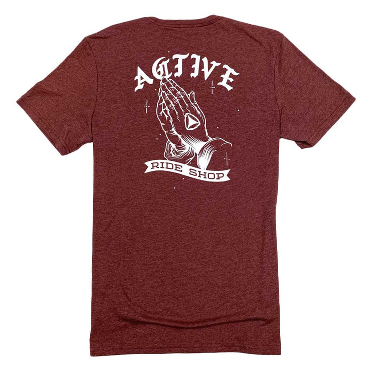 Hector T-Shirt - Burgundy