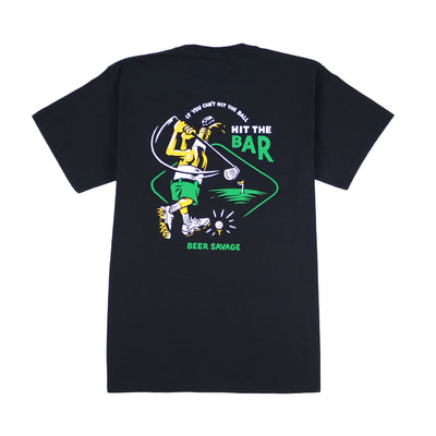 Hit the Bar T-Shirt - Black