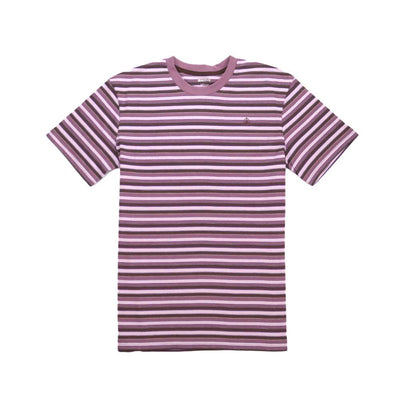 Kearny Stripe Tee - Dusty Purple