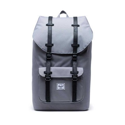 Lil America Backpack 600D POLY - GREY/BLACK