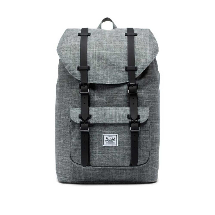 Lil America Backpack 600D POLY - RAVEN X BLACK