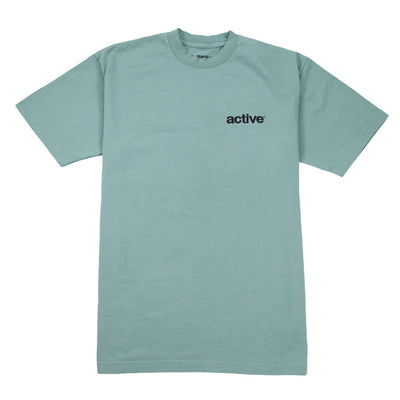 Lock Up Emb T-Shirt - Military Green