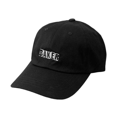Brand Logo Hat -Black