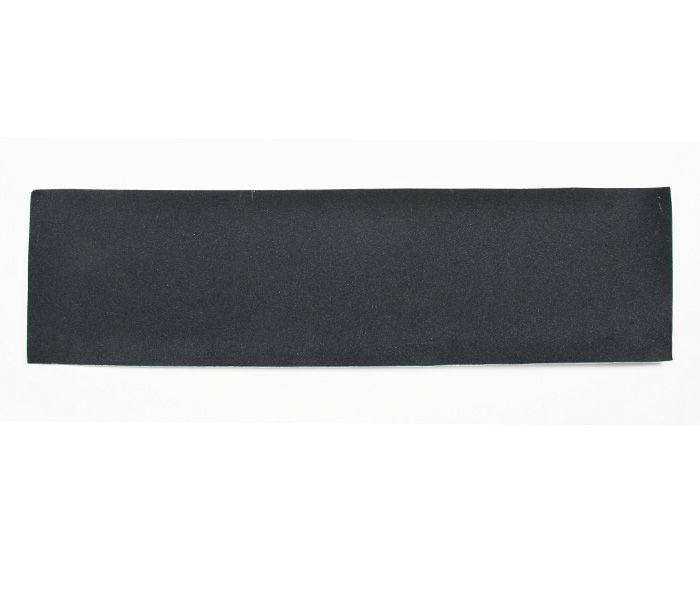 "9"" x 33"" sheet of black Mob Griptape for skateboards"