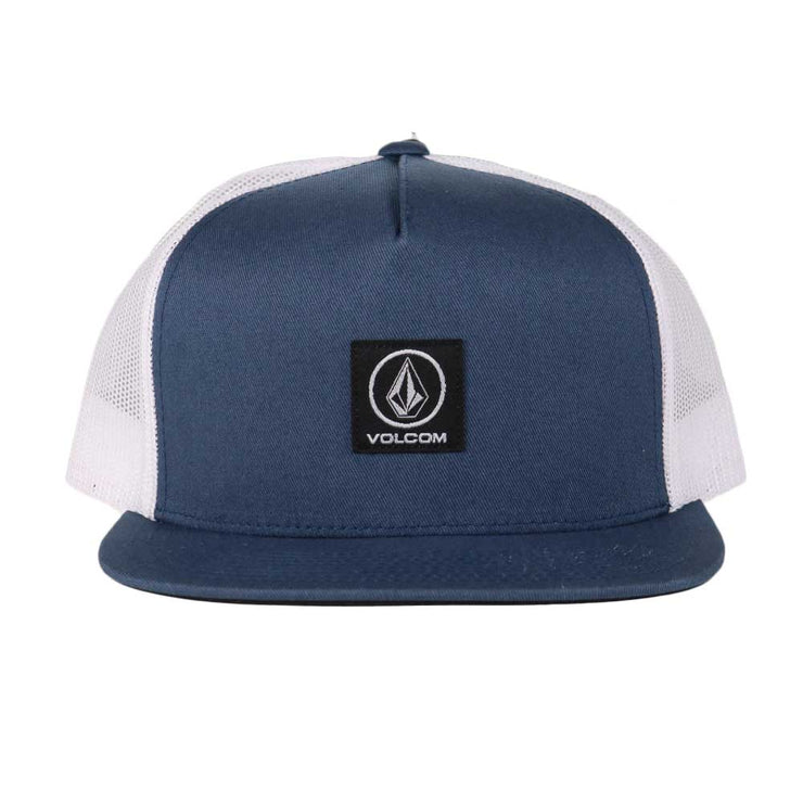 Box Stone Hat - Faded Navy