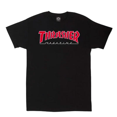 Outlined T-Shirt - Black