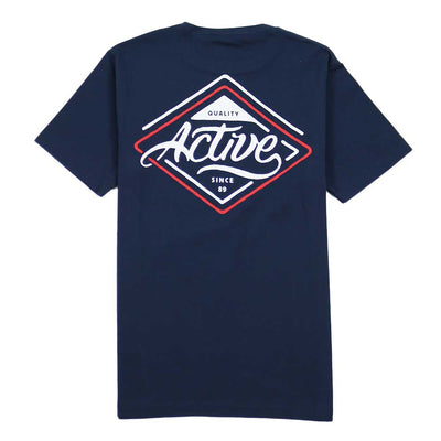 Park Ave Youth Tee - Navy