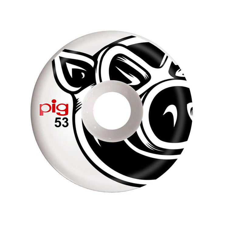 Pig Wheels C-Line 53 - White