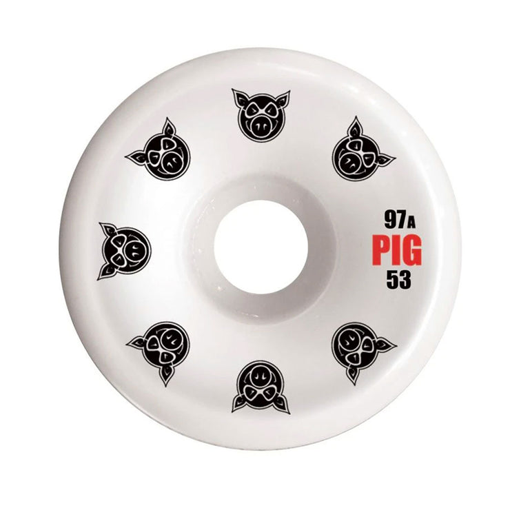 Multi Pig C-Line Wheel 53mm - White