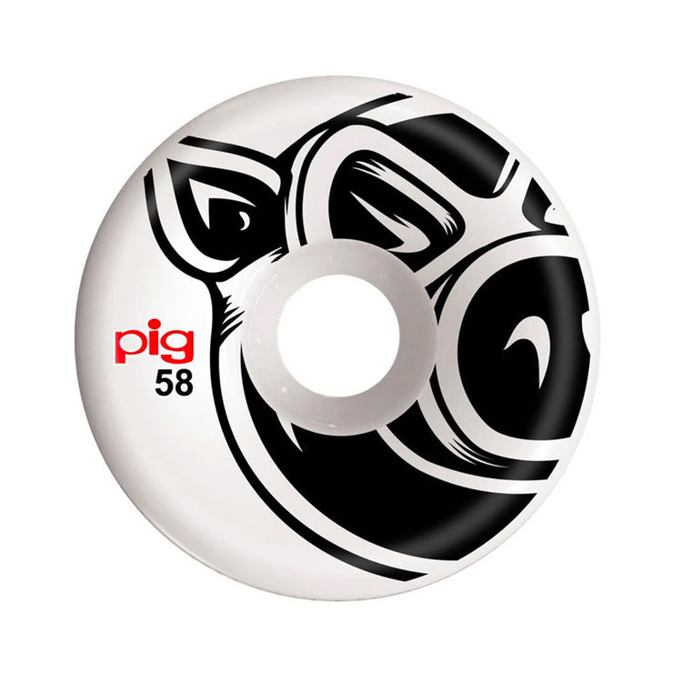 Pig Head C-Line Wheel 58mm - White